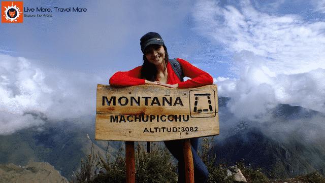 Skills a traveler develops: Machu Picchu Mountain - Peru