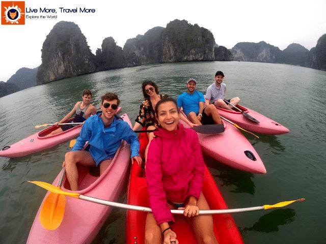 Habilidades de um viajante: Halong Bay - Vietnam