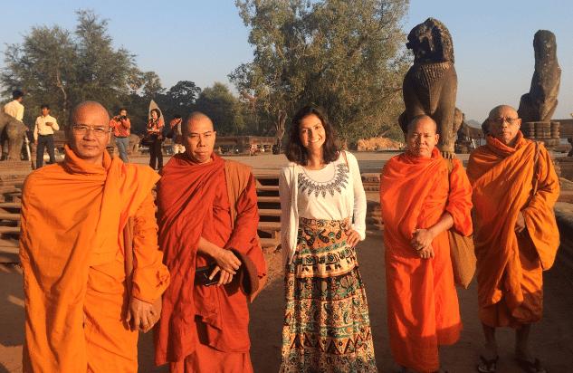 Monks at Angkor Wat - Cambodia