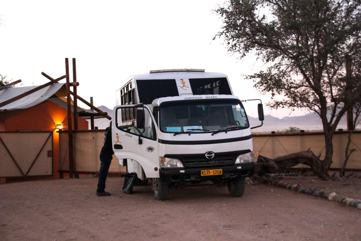 Ônibus Chameleon Safaris