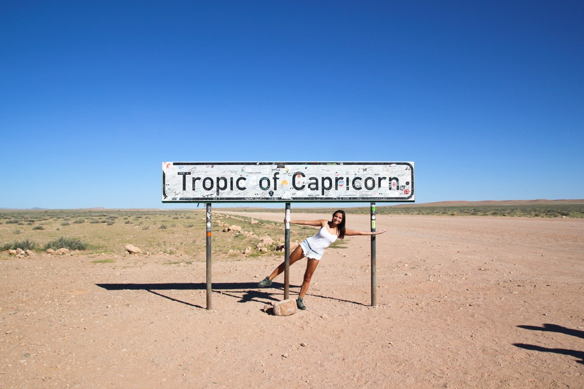 Placa Trópico de Capricórnio