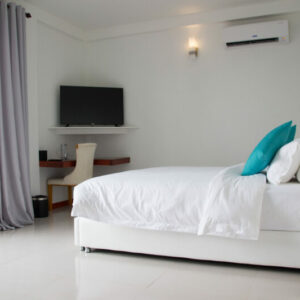White Sand Dhigurah Guest House in Maldives