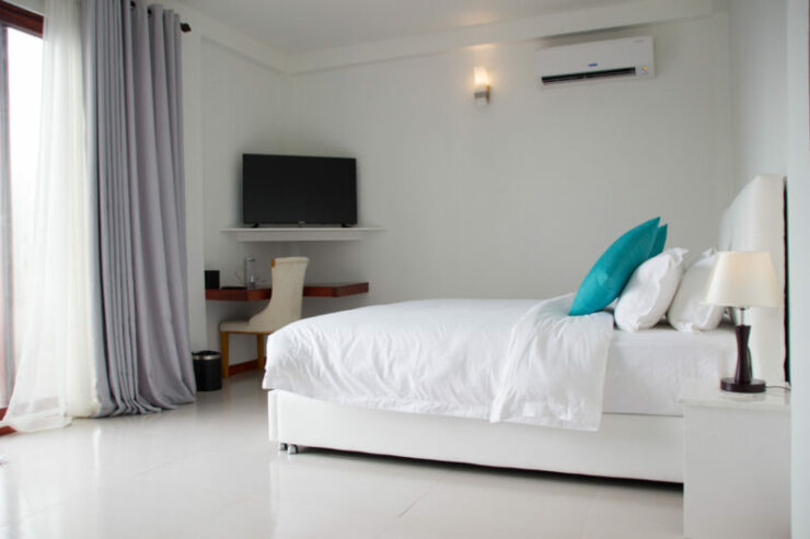 Quarto no White Sand Dhigurah Guest House