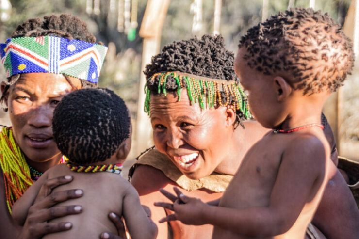 Get discount for San Tribe Tour with Chameleon Safaris