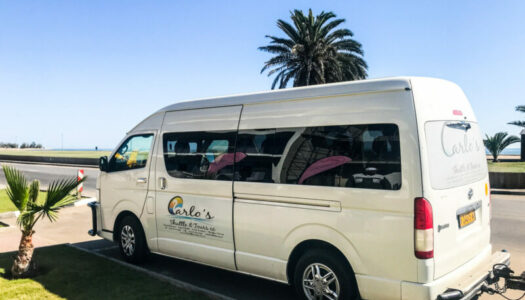 NAMIBIA – WINDHOEK, SWAKOPMUND, WALVIS BAY – SHUTTLE – 5% DISCOUNT WITH CARLO'S SHUTTLE