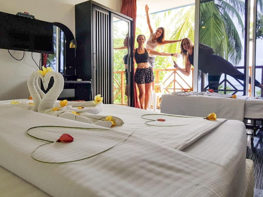 Quarto no Hotel Seven Corals em Maldivas Ilha Maafushi