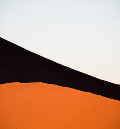 Dunas na Namíbia