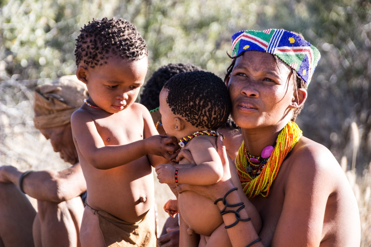 San Tribe Tour in Namibia