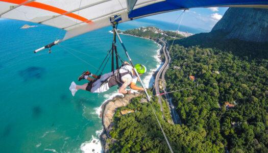 RIO DE JANEIRO – VÔO DE ASA DELTA – R$50 DE DESCONTO + FOTOS & VÍDEOS COM BEST FLY RIO