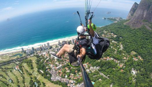 RIO DE JANEIRO – VÔO DE PARAPENTE – R$50 DE DESCONTO + FOTOS & VÍDEOS COM BEST FLY RIO