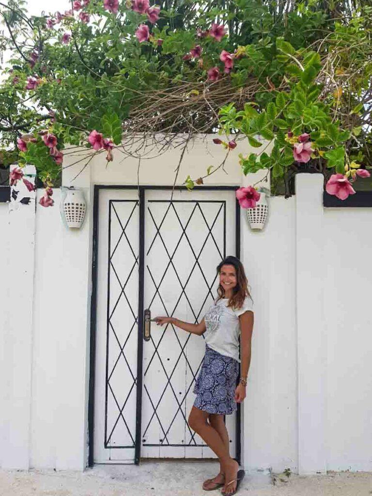 Casa linda na Ilha Maafushi Maldivas