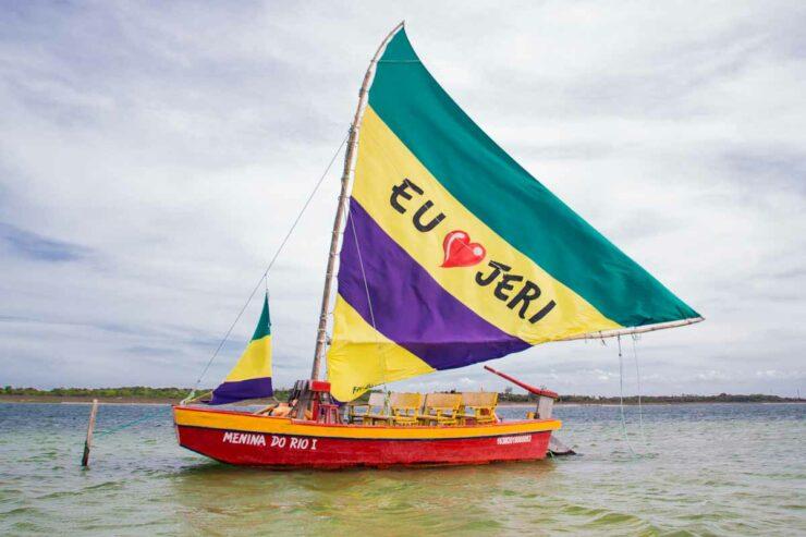 Lagoa do Paraíso - Jericoacoara - Ceará - Brasil