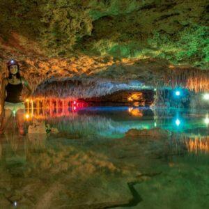 Passeio Caverna no México