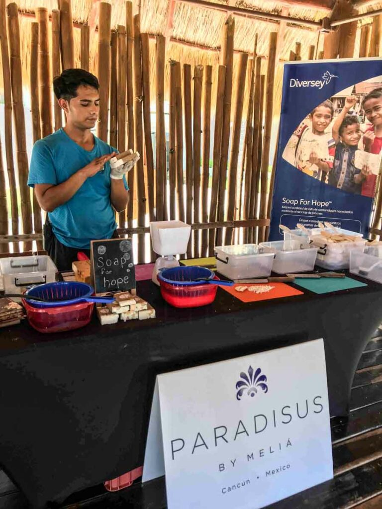 Soap for hope project - Paradisus Cancun
