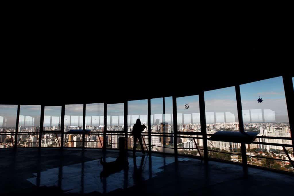 Panoramic Tower of Curitiba.