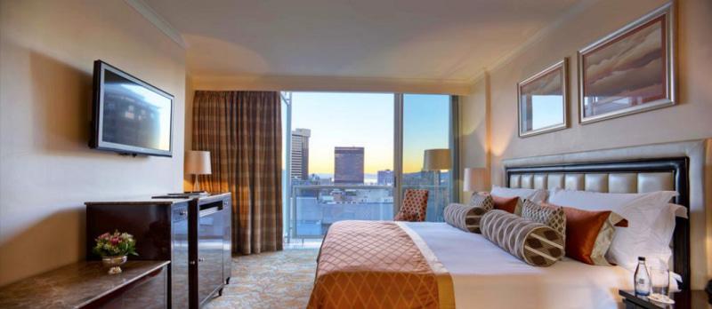 Bedroom at Taj Hotel