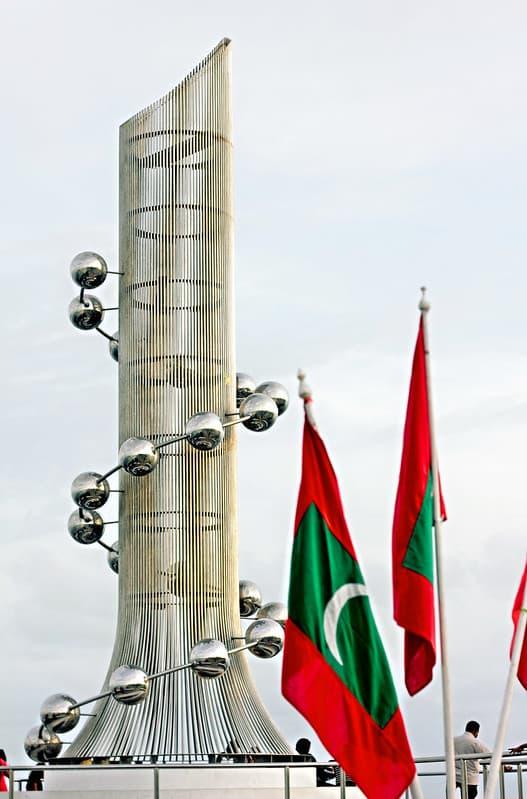Tsunami Monument Maldives