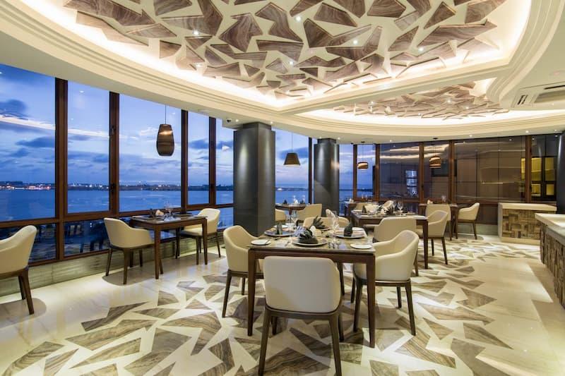 Hotel near the beach in Male Maldives