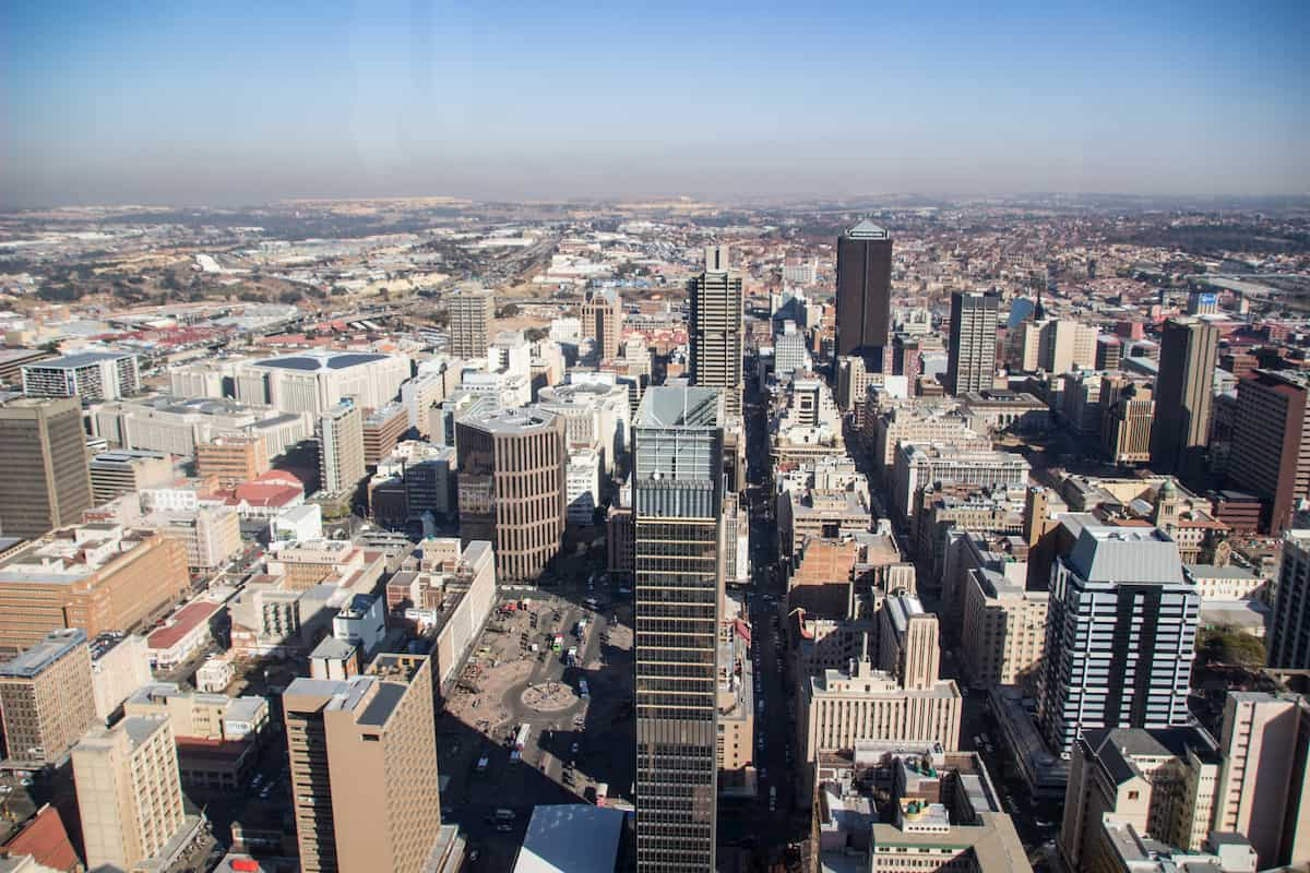 Carlton Center, The Top of Africa - Johannesburg, South Africa