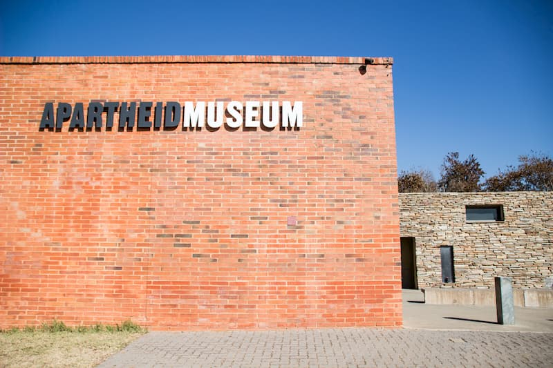 Apartheid Museum, one of the best things to do in Johannesburg