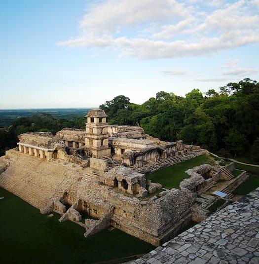 O Palácio de Palenque