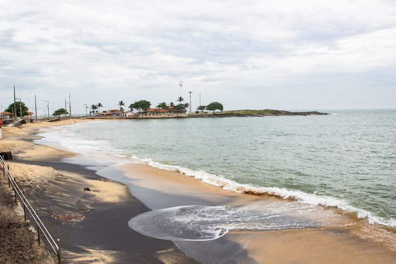 Praia da Areia Preta in Guarapari - Espírito Santo