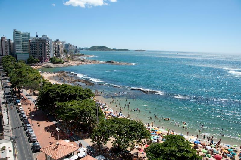 Praia das Castanheiras in Guarapari - ES