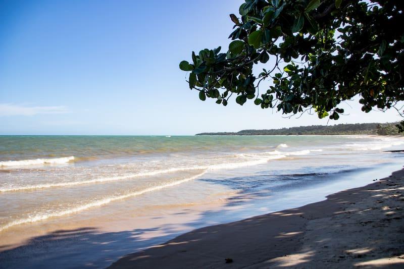 Praia dos Coqueiros em Trancoso