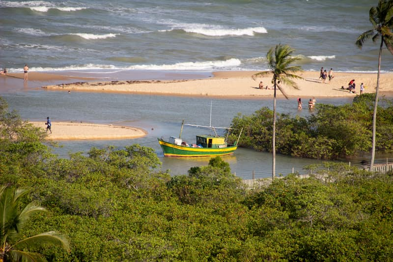 Praia dos Nativos - one of the best things to do in Trancoso, Brazil
