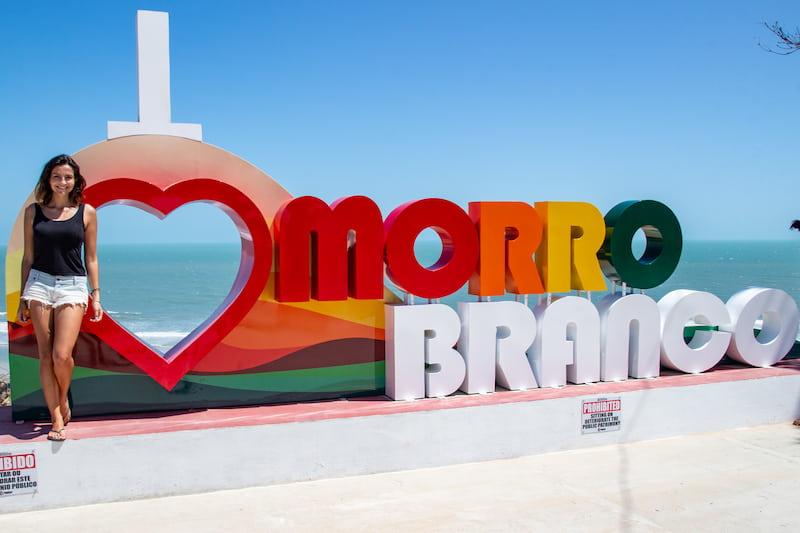 Morro Branco in Ceará
