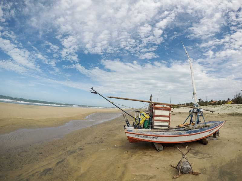 Flecheiras Beach in Ceará