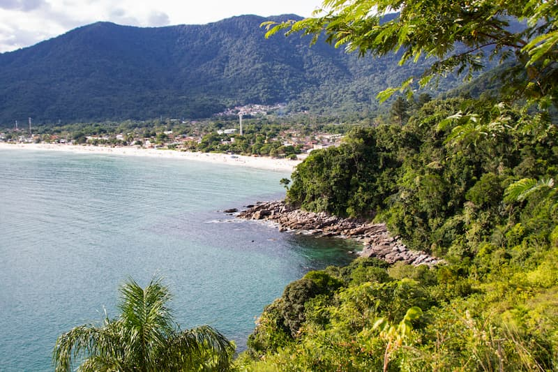 viewpoint in Maresias
