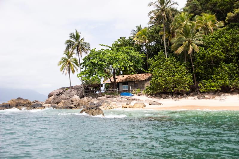 Ilha dos Gatos in São Sebastião SP - Island near Maresias