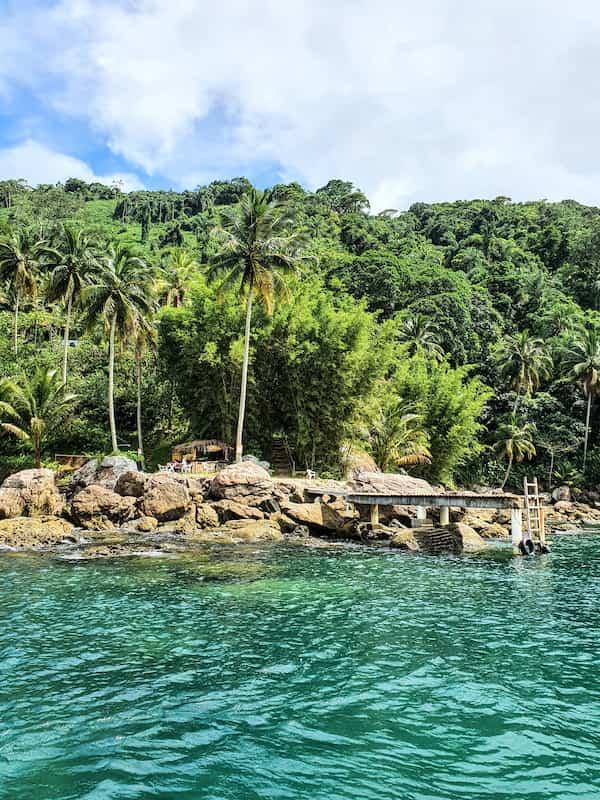 Ilha das Couves in São Sebastião SP