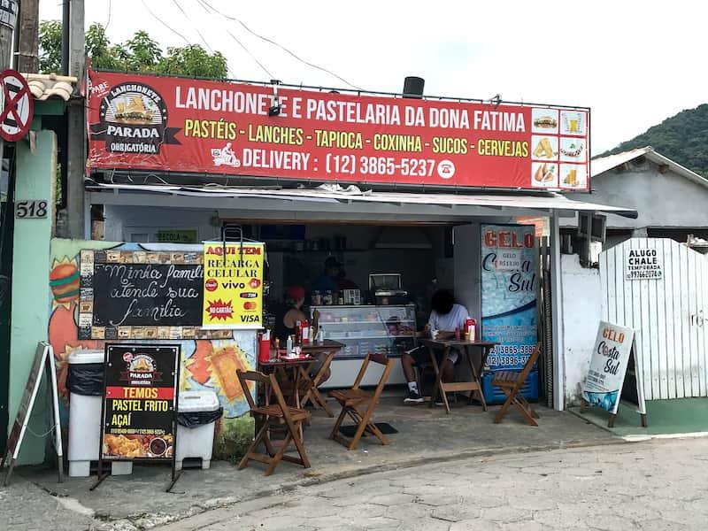 Onde comer barato em Maresias