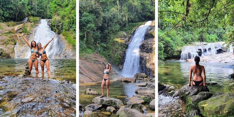 Trilha de Ribeirão de Itu in Boiçucanga