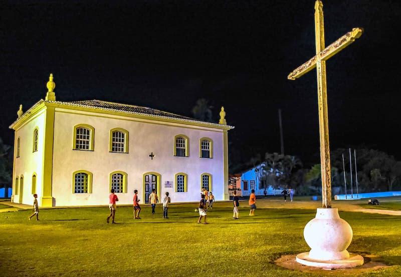 museum in Porto Seguro city in Bahia, Brazil