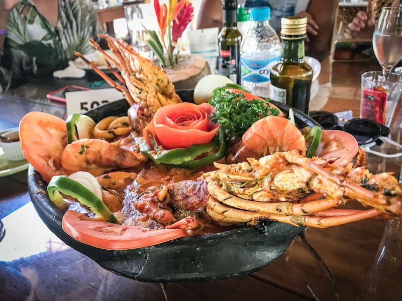 Onde comer em Porto Seguro Bahia - Cabana Malibu