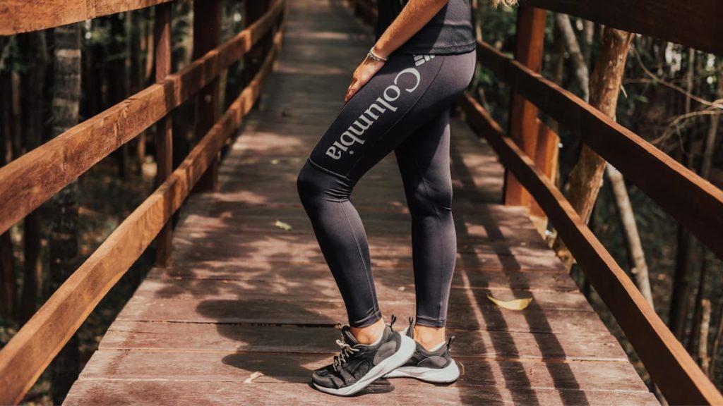 legging feminina preta - uma calça de trilha confortável para as mulheres