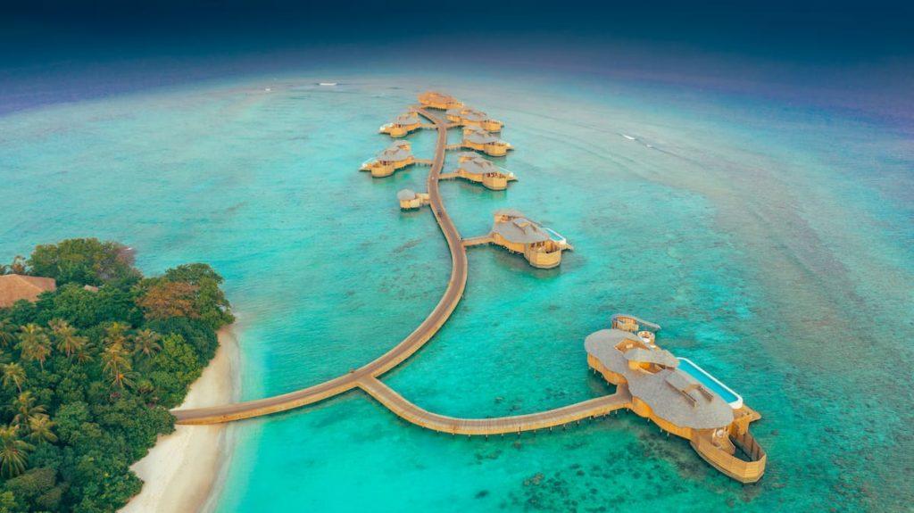 Preço de resort nas Maldivas