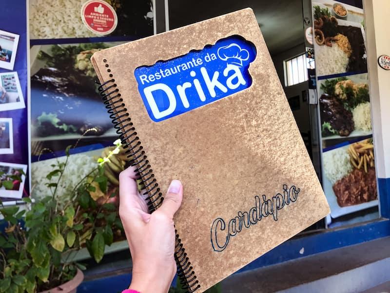 Restaurante da Drika -a place to eat cheap
