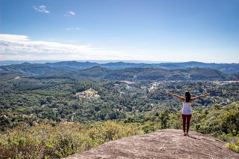 Trilha em Monte Verde na Villa Coracao