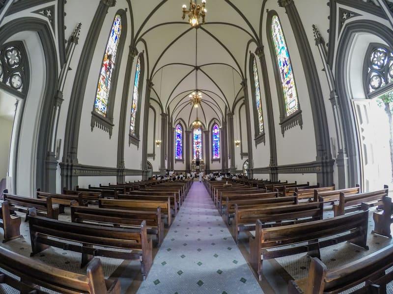 Catedral Metropolitana de Vitoria por dentro - Elaine Villatoro