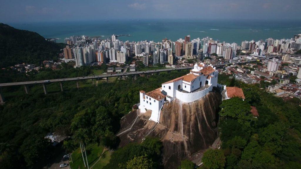 Vista Aerea Convento Nossa Sra Penha Vila Velha - Marcio Auriema