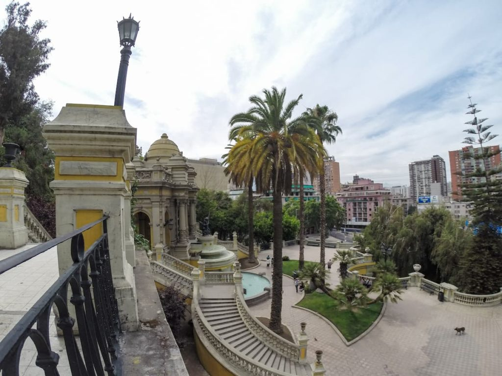 Cerro Santa Lucia - One of the best things to do in Santiago, the capital of Chile