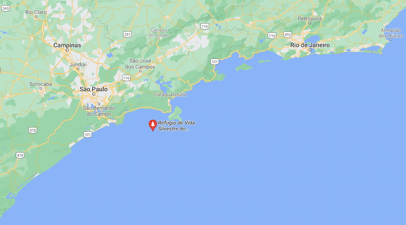 onde fica alcatrazes no mapa