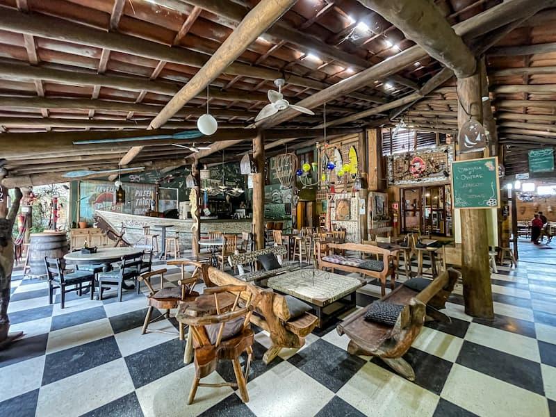 Restaurante Terral Maresias, um dos melhores lugares para comer em Maresias