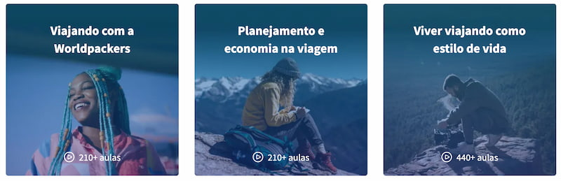 worldpackers academy no brasil